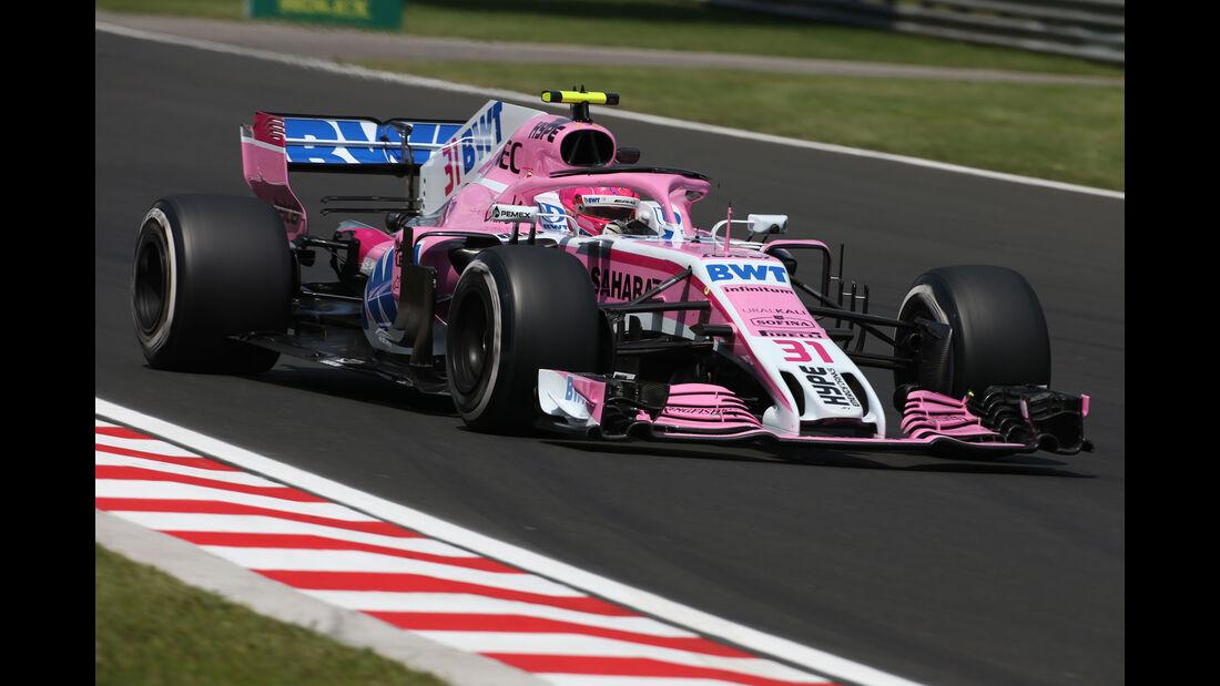 Esteban Ocon - Force India - GP Ungarn - Budapest - Formel 1 - 27.7.2018