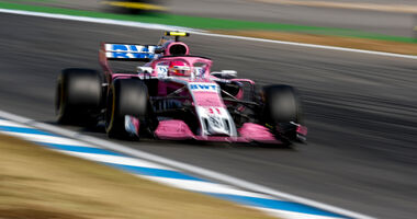 Esteban Ocon - Force India - Hockenheim