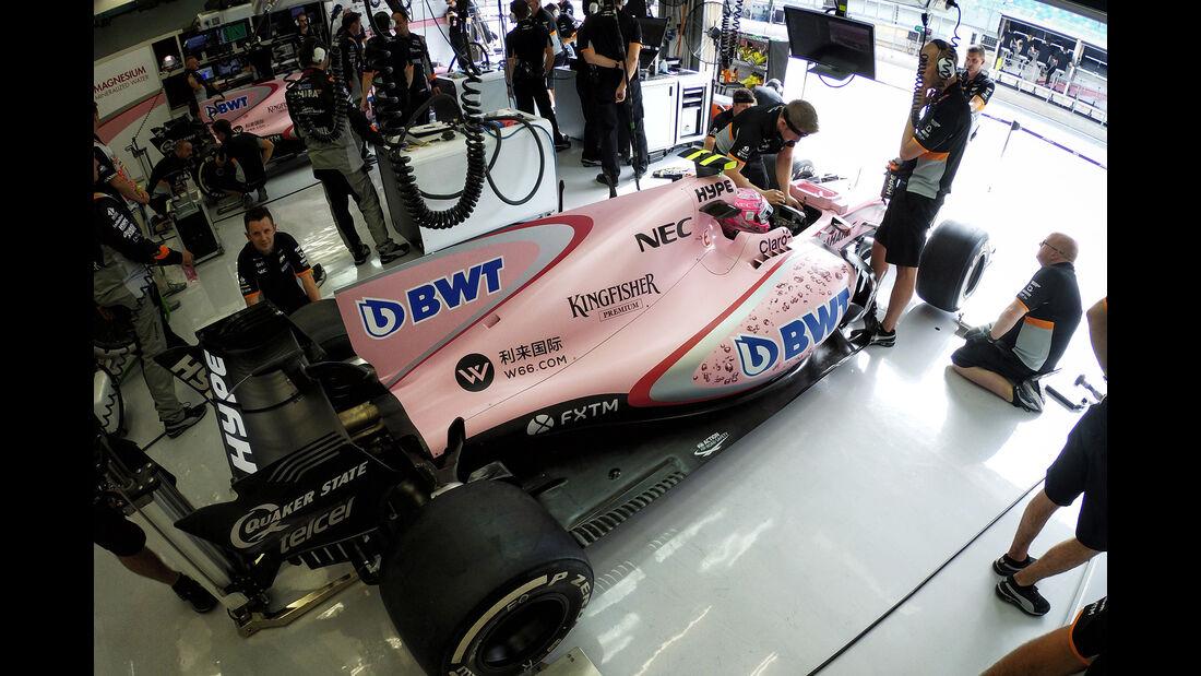 Esteban Ocon - Formel 1 - GP Bahrain 2017
