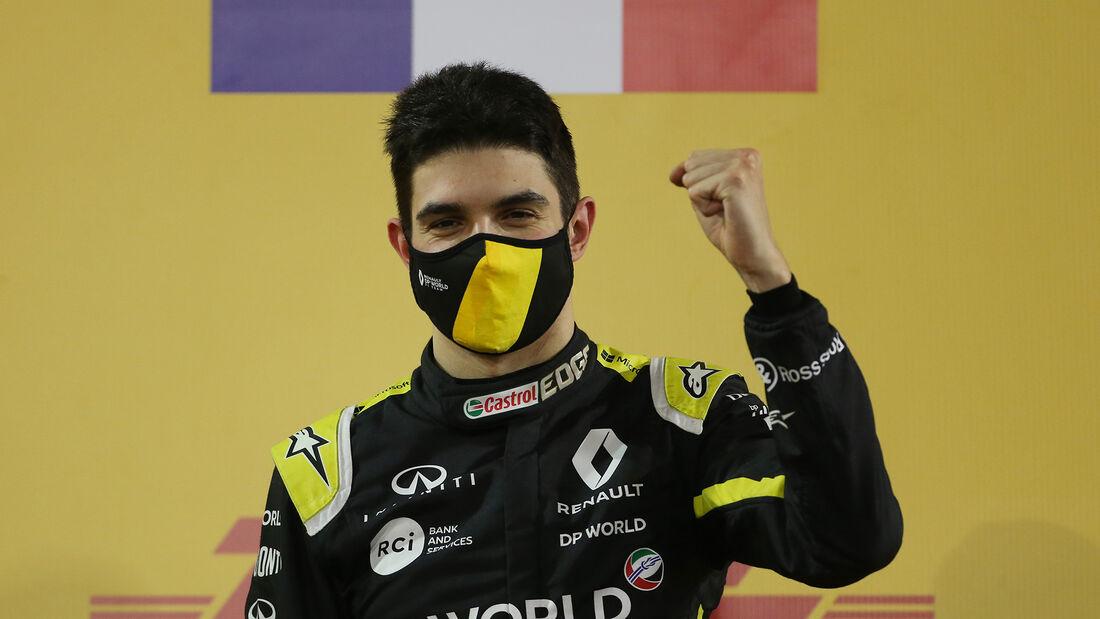 Esteban Ocon - Formel 1 - GP Bahrain / Sakhir 2020