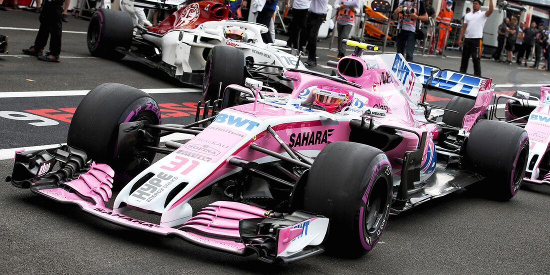 Esteban Ocon - Formel 1 - GP Frankreich 2018
