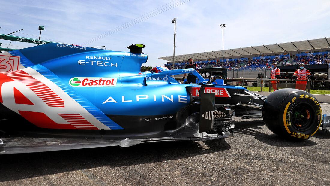 Esteban Ocon - Formel 1 - GP Frankreich 2021