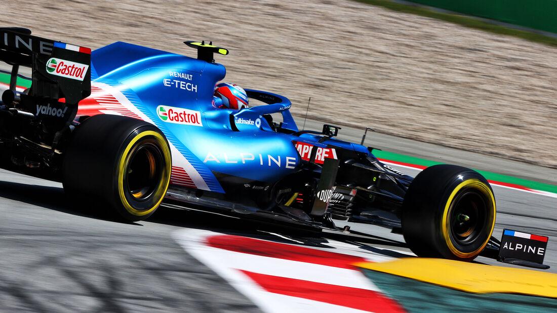Esteban Ocon - Formel 1 - GP Spanien 2021
