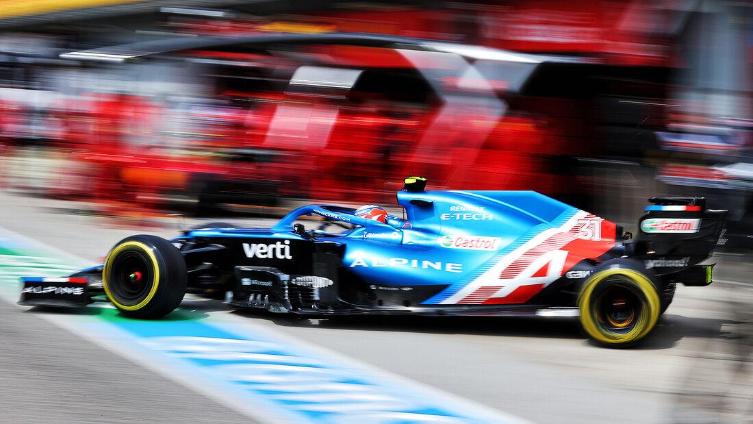 Esteban Ocon - Formel 1  - Imola - GP Emilia Romagna 2021