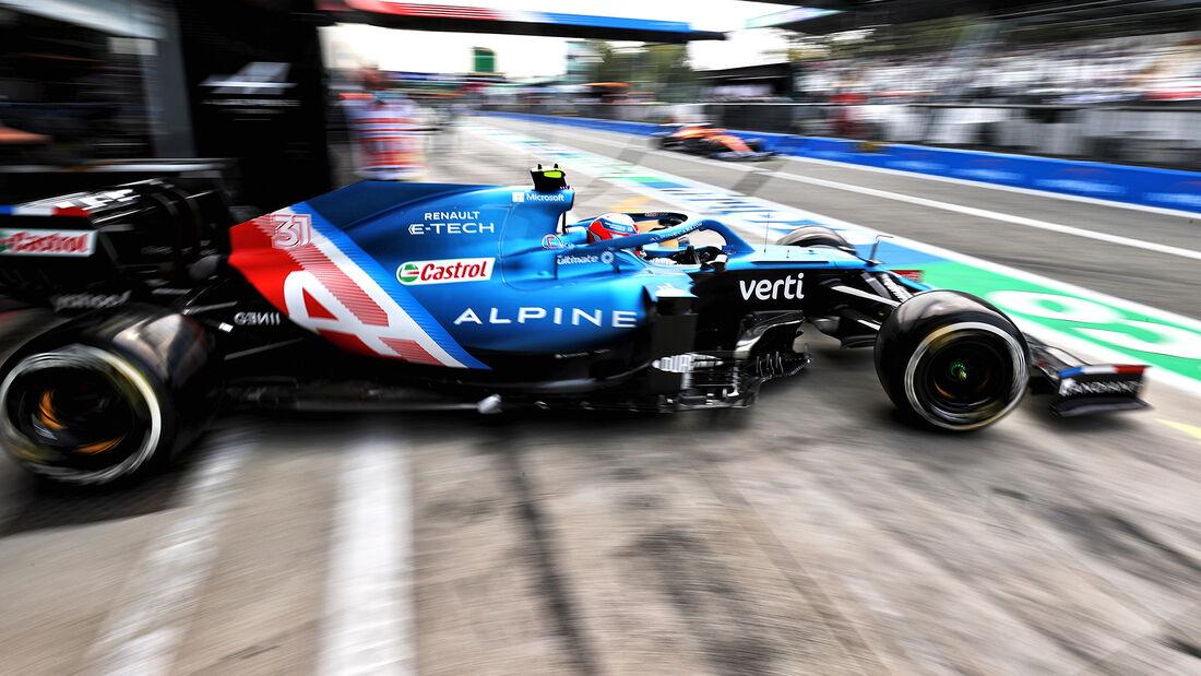 Esteban Ocon - Formel 1 - Monza - GP Italien 2021