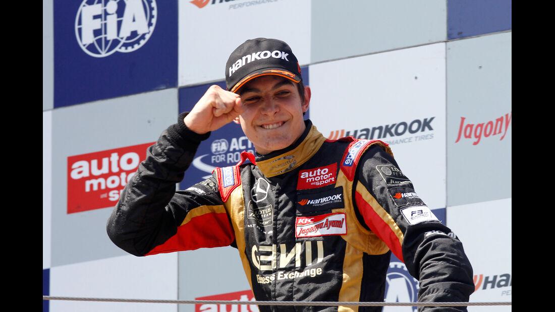 Esteban Ocon - Formel 3 EM - Moskau 2014
