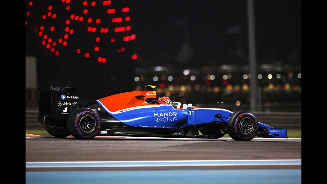 Esteban Ocon - GP Abu Dhabi 2016