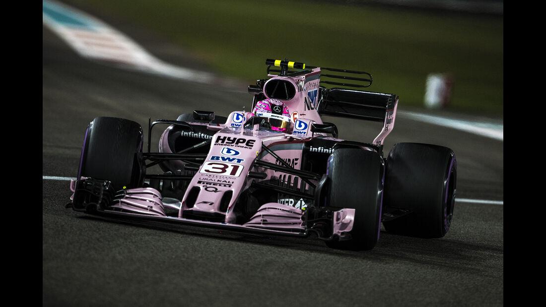 Esteban Ocon - GP Abu Dhabi 2017
