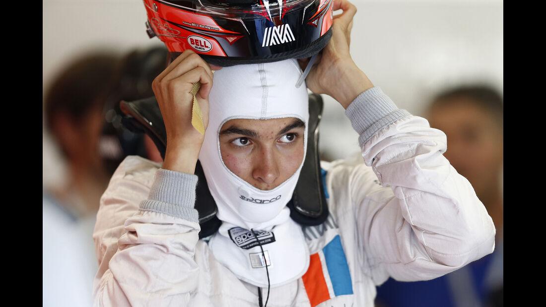 Esteban Ocon - GP Belgien 2016