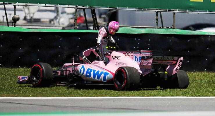 Esteban Ocon - GP Brasilien 2017