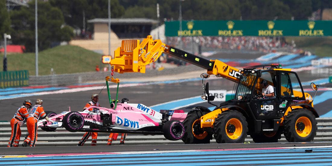 Esteban Ocon - GP Frankreich 2018