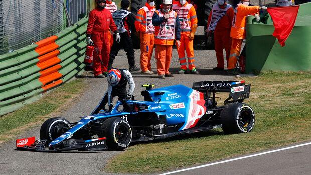 Esteban Ocon  - GP Imola - 2021