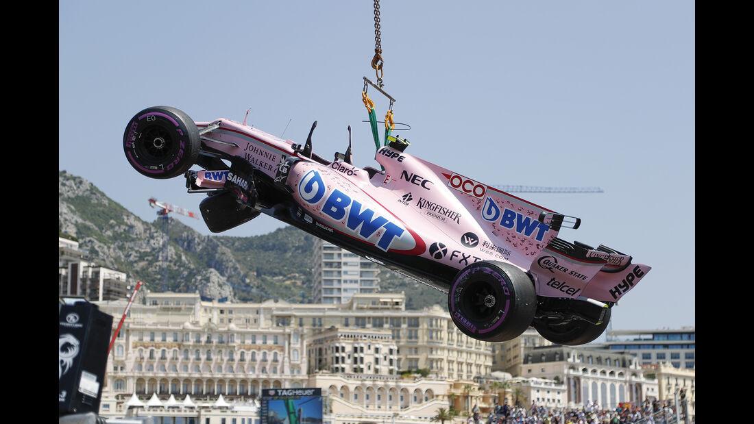Esteban Ocon - GP Monaco 2017