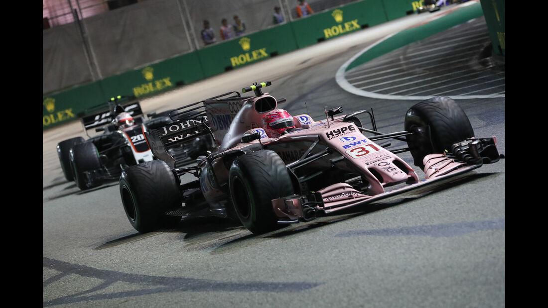 Esteban Ocon - GP Singapur 2017