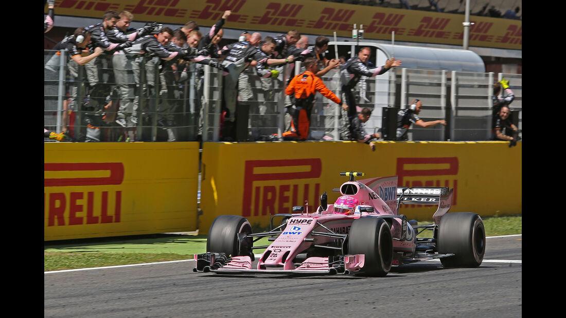 Esteban Ocon - GP Spanien 2017