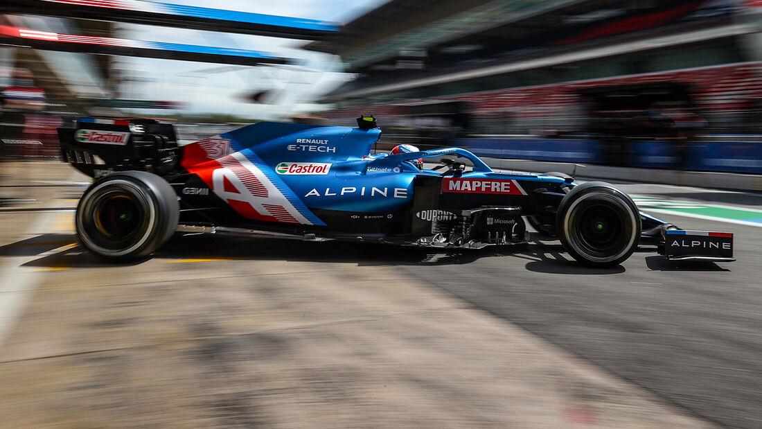 Esteban Ocon - GP Spanien 2021
