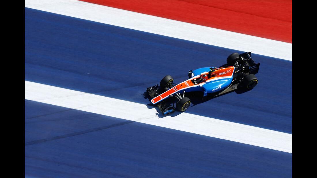 Esteban Ocon - GP USA 2016