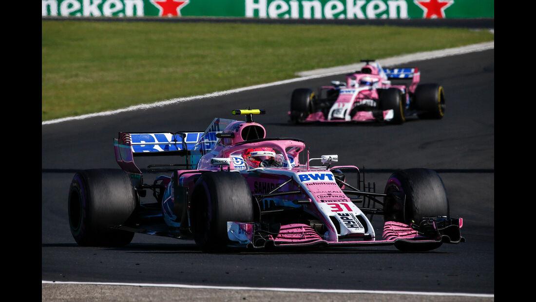 Esteban Ocon - GP Ungarn 2018