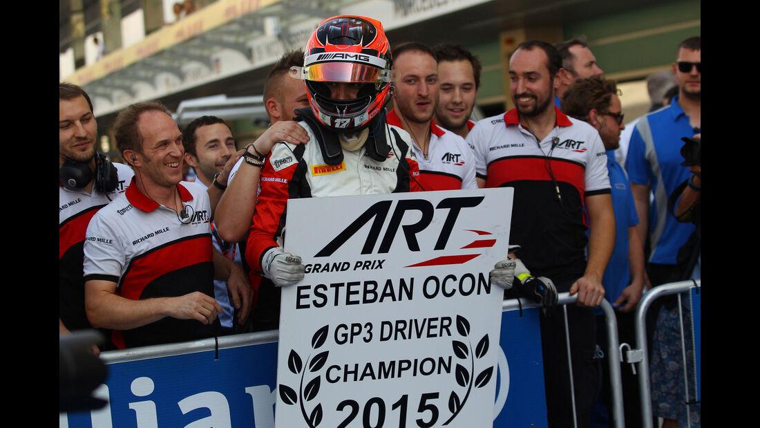 Esteban Ocon - GP3 - Abu Dhabi