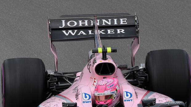Esteban Ocon - Johnnie Walker - Force India - F1 2017