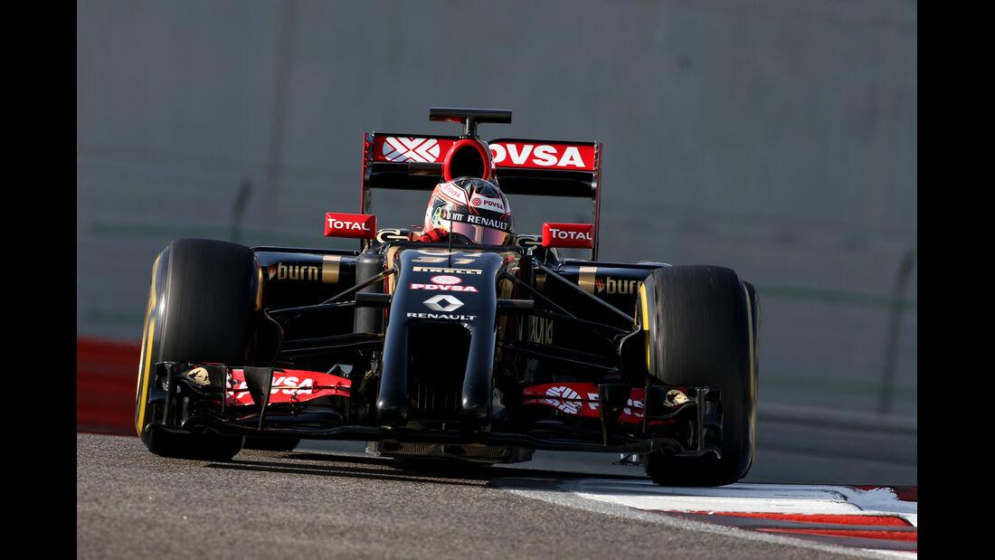 Esteban Ocon - Lotus - Formel 1 - Test - Abu Dhabi - 26. November 2014