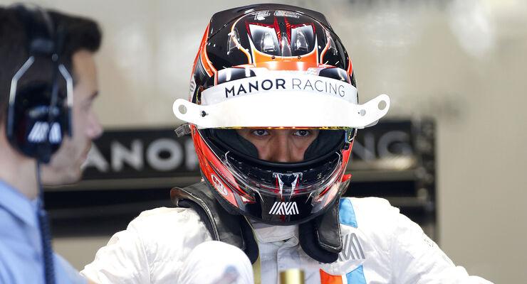 Esteban Ocon - Manor - Formel 1 - GP Belgien - Spa-Francorchamps - 25. August 2016