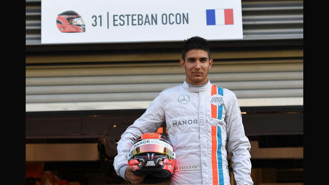 Esteban Ocon - Manor - Formel 1 - GP Belgien - Spa-Francorchamps - 26. August 2016