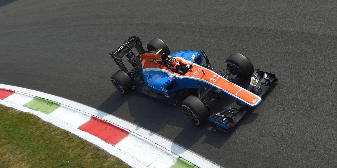 Esteban Ocon - Manor - Formel 1 - GP Italien - Monza - 2. September 2016