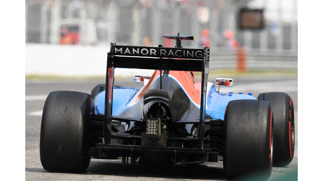 Esteban Ocon - Manor - Formel 1 - GP Italien - Monza - 3. September 2016