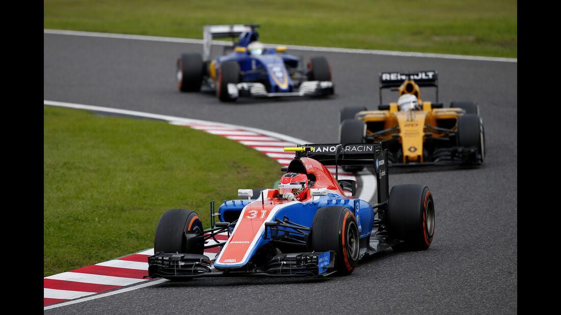 Esteban Ocon - Manor - Formel 1 - GP Japan 2016 - Suzuka
