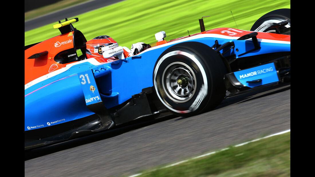 Esteban Ocon - Manor - Formel 1 - GP Japan - Suzuka - Freitag - 7.10.2016