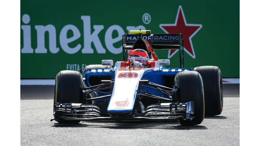 Esteban Ocon - Manor - Formel 1 - GP Mexiko - 29. Oktober 2016