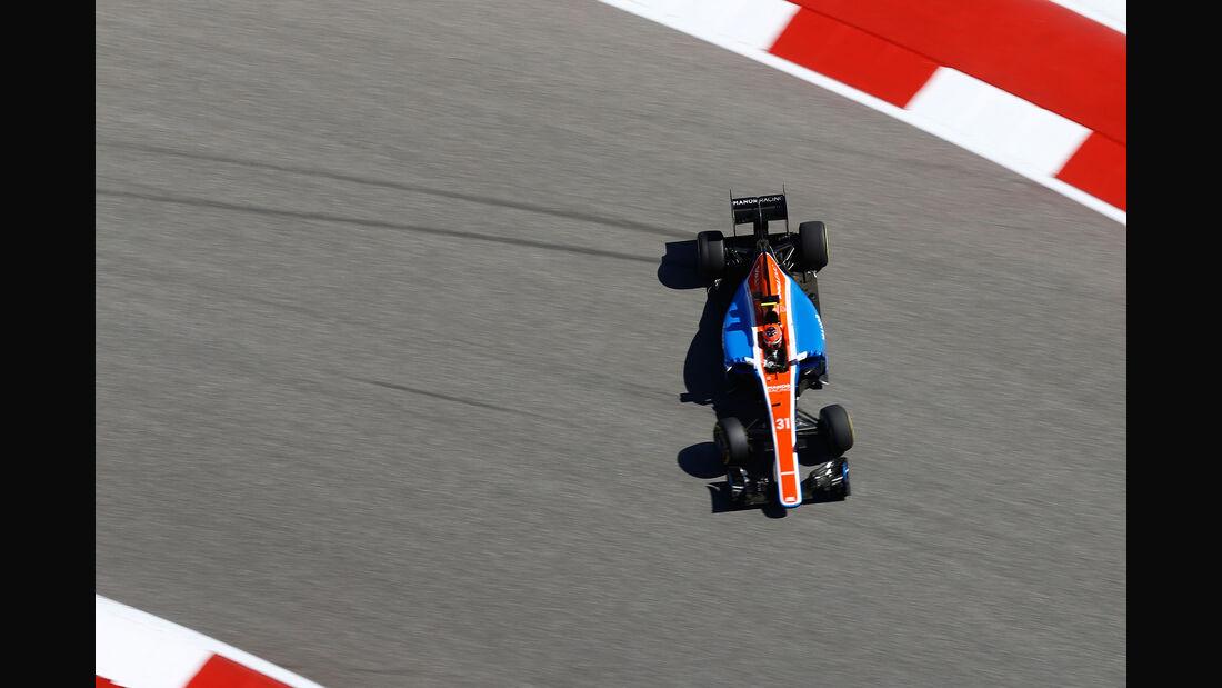 Esteban Ocon - Manor - Formel 1 - GP USA - Austin - 21. Oktober 2016