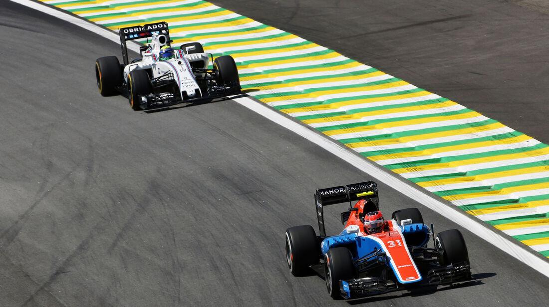 Esteban Ocon - Manor - GP Brasilien - Interlagos - Freitag - 11.11.2016