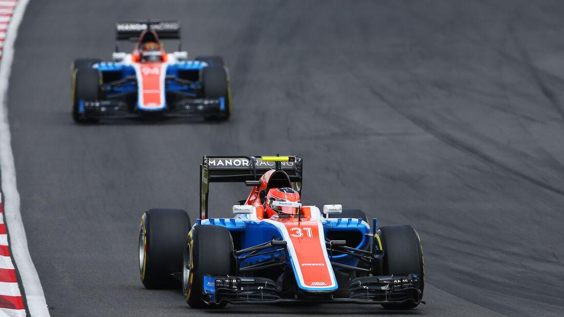 Esteban Ocon - Manor - GP Malaysia 2016