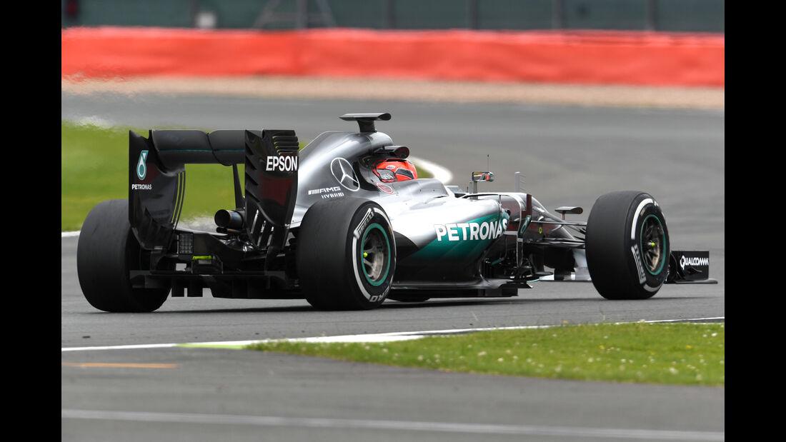 Esteban Ocon - Mercedes - Formel 1 - Silverstone-Test - 12. Juli 2016