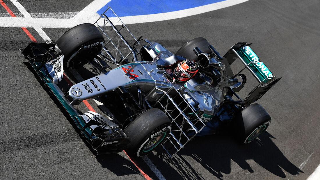 Esteban Ocon - Mercedes - Formel 1 - Silverstone-Test - 13. Juli 2016