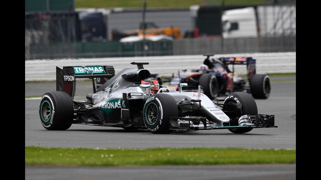 Esteban Ocon - Mercedes - Silverstone-Test - 12- Juli 2016
