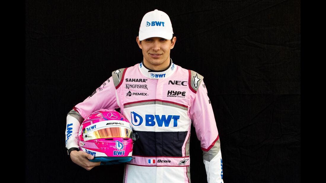 Esteban Ocon - Porträt - Formel 1 - 2018