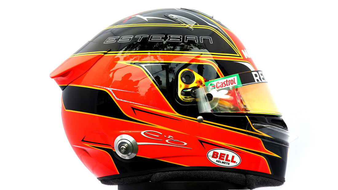 Esteban Ocon - Porträt & Helm - Formel 1 - 2020