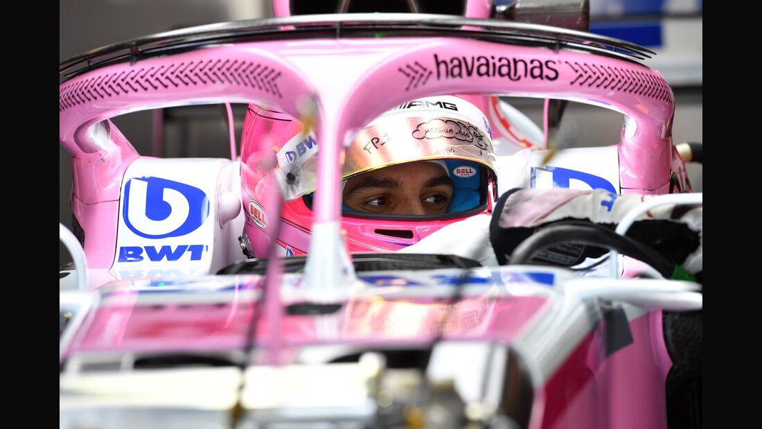 Esteban Ocon - Racing Point Force India - Formel 1 - GP Italien - 30. August 2018