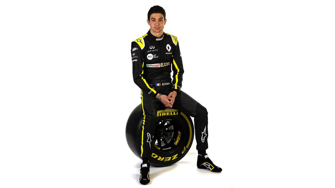 Esteban Ocon - Renault - 2020