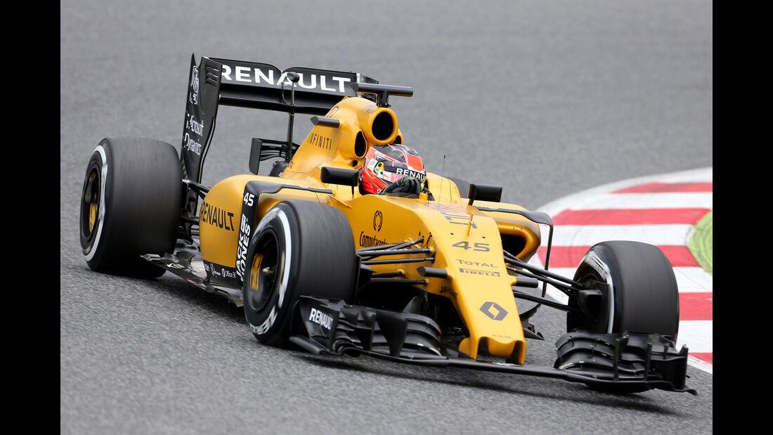 Esteban Ocon - Renault F1 - Barcelona-Test - 17. Mai 2016