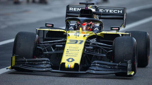 Esteban Ocon - Renault - F1-Test - Abu Dhabi - 4. Dezember 2019