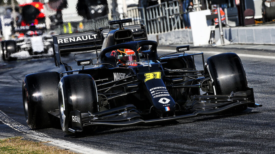 Esteban Ocon - Renault - F1-Test - Barcelona - 20. Februar 2020