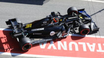 Esteban Ocon - Renault - F1-Test - Barcelona - 27. Februar 2020