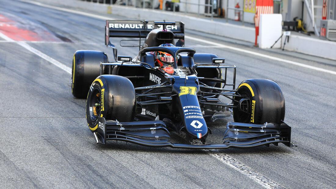 Esteban Ocon - Renault - F1-Test - Barcelona - 28. Februar 2020