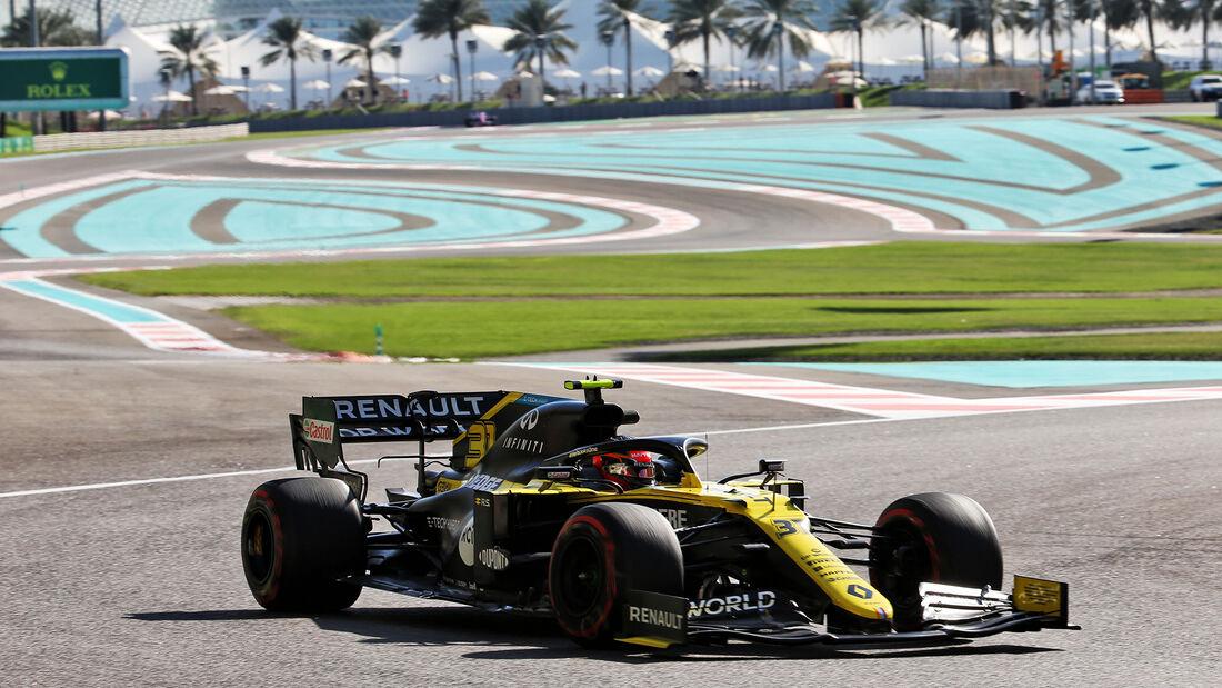 Esteban Ocon - Renault - Formel 1 - GP Abu Dhabi - Freitag - 11.12.2020