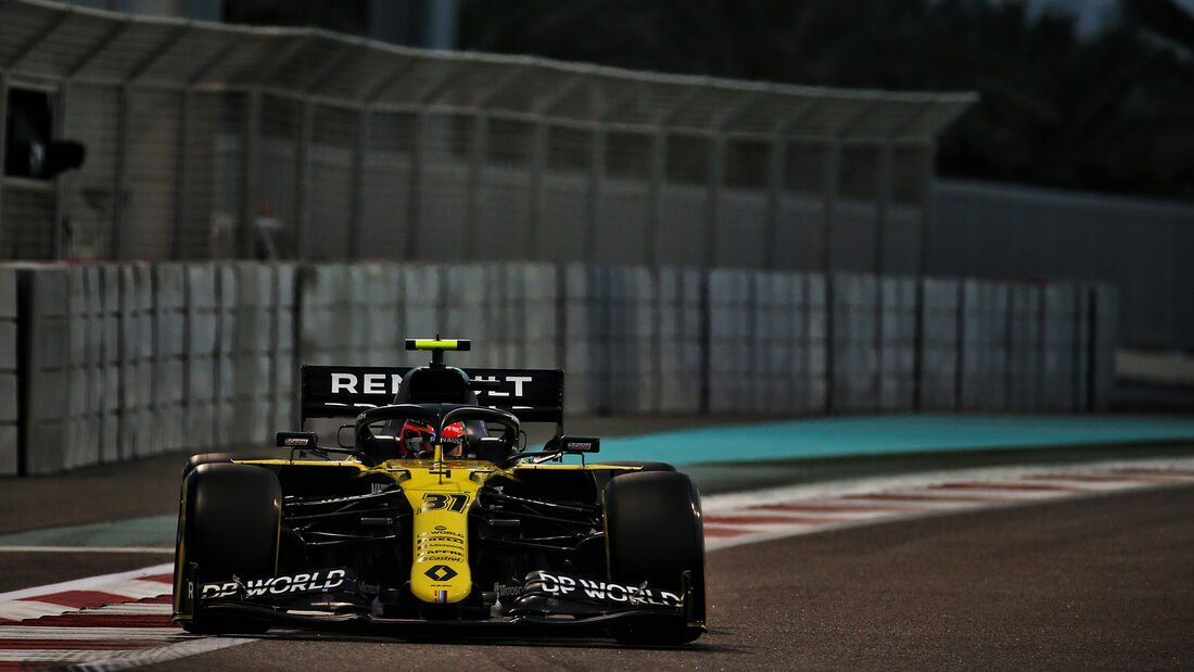Esteban Ocon - Renault - Formel 1 - GP Abu Dhabi - Samstag - 12.12.2020