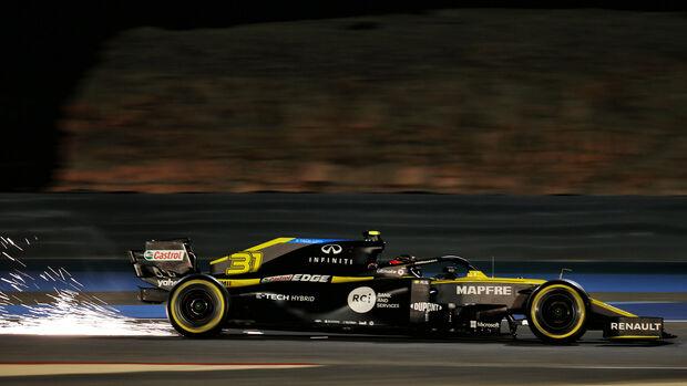 Esteban Ocon - Renault - Formel 1 - GP Bahrain - Sakhir - Freitag - 27.11.2020